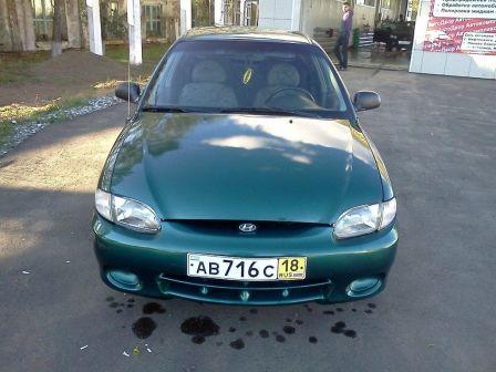 Hyundai Accent 1998 - отзыв владельца