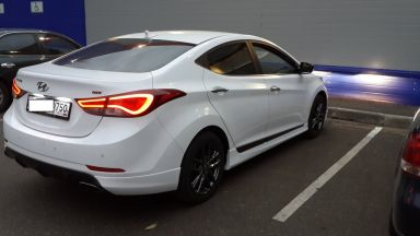 Hyundai Avante 2014 отзыв автора | Дата публикации 10.10.2014.