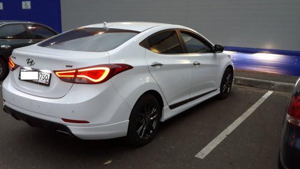 Hyundai Avante 2014 - отзыв владельца