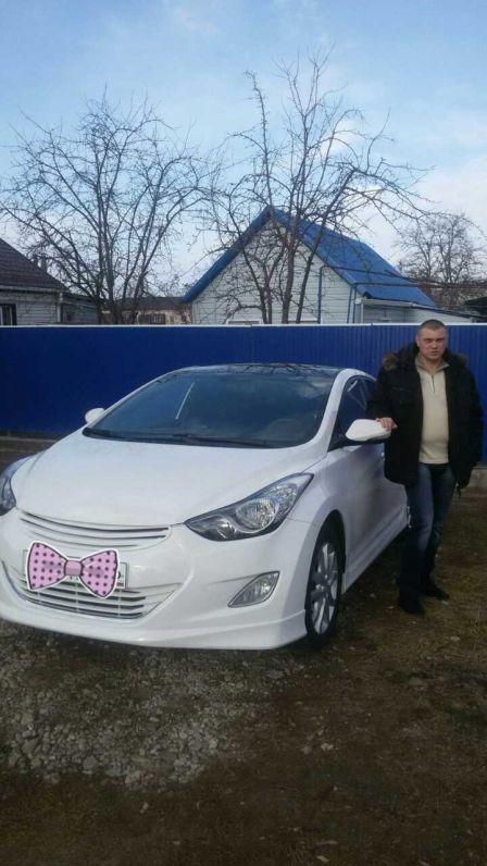 Hyundai Avante 2012 - отзыв владельца