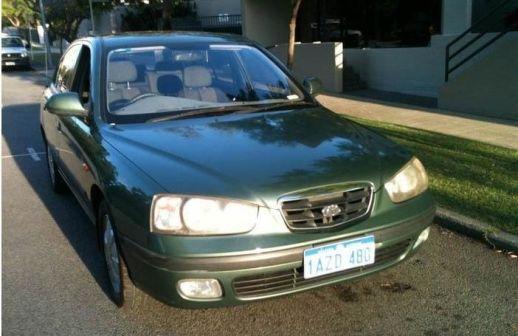 Hyundai Elantra 2001 - отзыв владельца