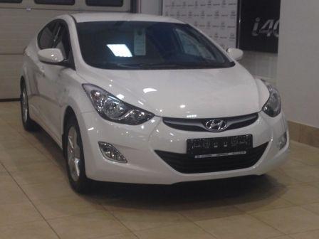 Hyundai Elantra 2013 - отзыв владельца