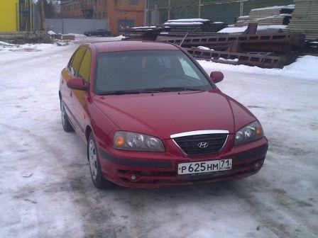 Hyundai Elantra 2006 - отзыв владельца
