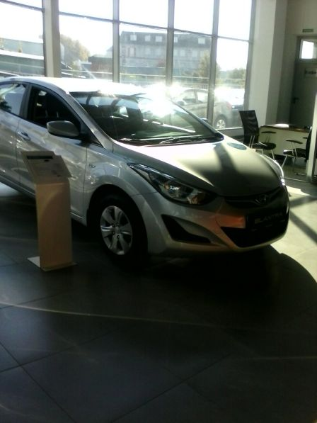 Hyundai Elantra 2014 - отзыв владельца