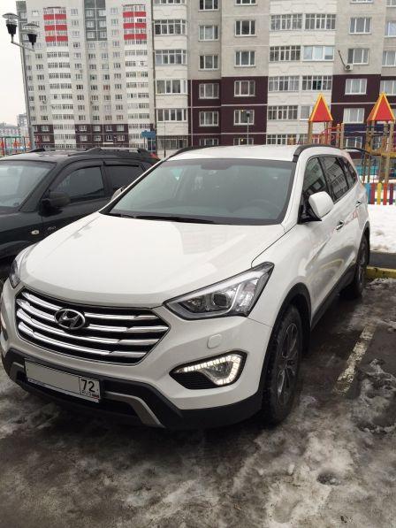 Hyundai Grand Santa Fe 2014 - отзыв владельца
