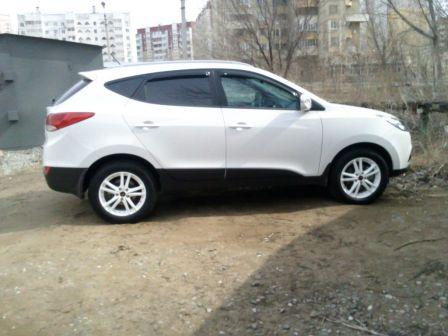 Hyundai ix35 2012 - отзыв владельца