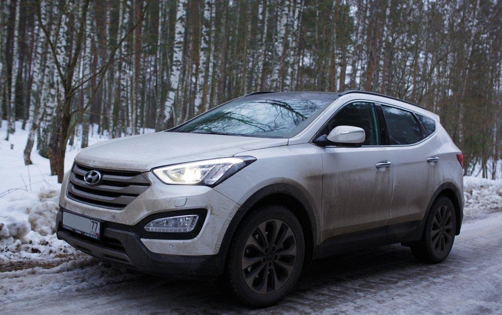 Рестайлинг Hyundai Santa Fe 20162017 цена фото видео