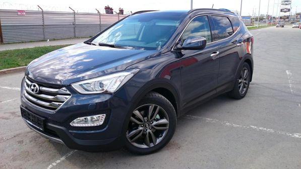 Hyundai Santa Fe 2013 - отзыв владельца