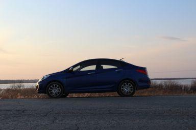 Hyundai Solaris 2011 отзыв автора | Дата публикации 01.09.2011.