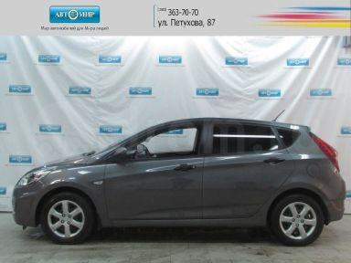 Hyundai Solaris 2011 отзыв автора | Дата публикации 21.03.2015.