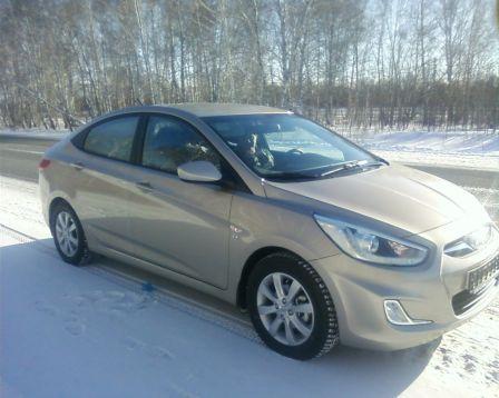 Hyundai Solaris 2013 - отзыв владельца
