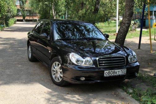 Hyundai Sonata 2008 - отзыв владельца