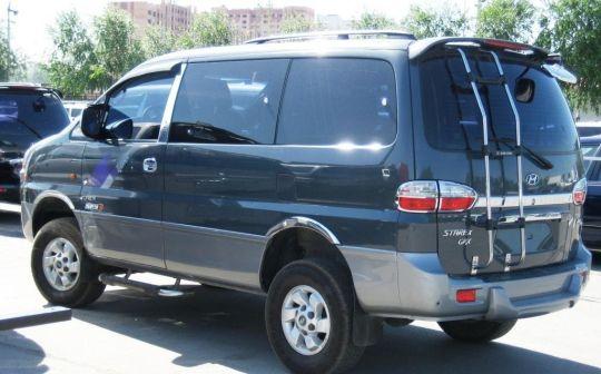 Hyundai Starex 2006 - отзыв владельца