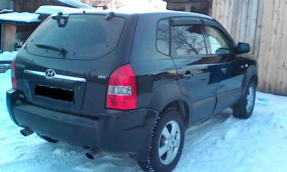 Hyundai Tucson 2004 - отзыв владельца
