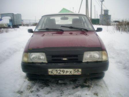 ИЖ 2126 Ода 2002 - отзыв владельца
