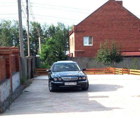 Jaguar X-Type 2002 - отзыв владельца