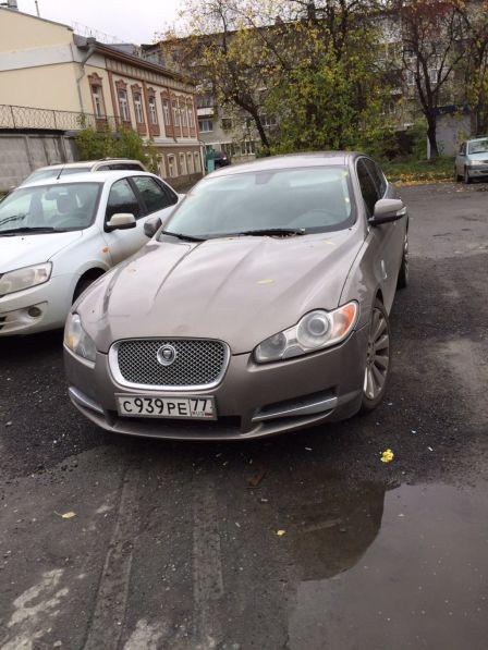 Jaguar XF 2008 - отзыв владельца