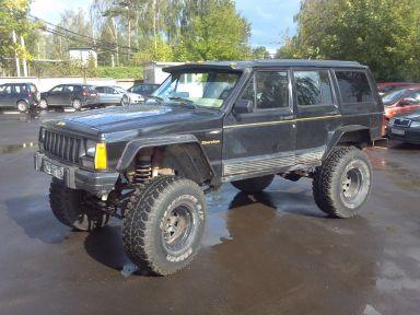 Jeep Cherokee 1992 отзыв автора | Дата публикации 08.09.2014.