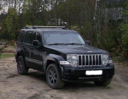 Jeep Cherokee 2008 - отзыв владельца