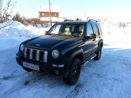Jeep Liberty 2001 - отзыв владельца