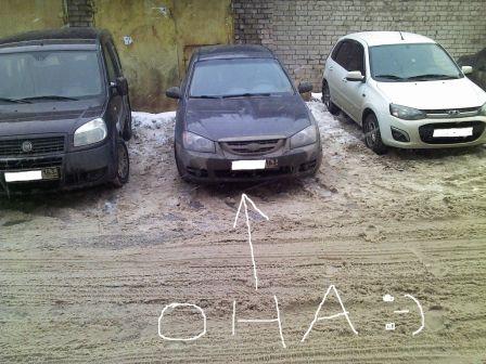 Kia Cerato 2005 - отзыв владельца