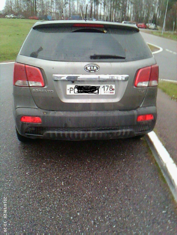 Машина после дождя и наших дорог