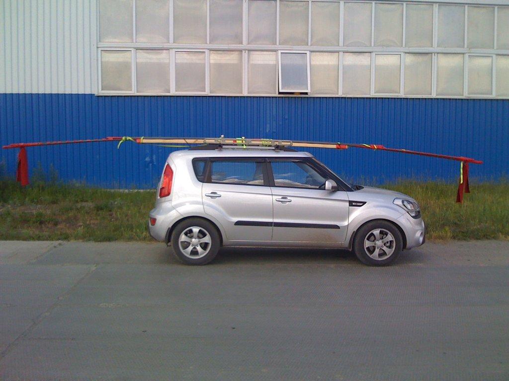 Вынужденно пришлось перевозить арматуру 8 метров, это жесть...