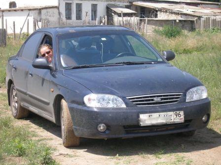 Kia Spectra 2008 - отзыв владельца