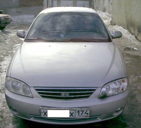 Kia Spectra 2006 - отзыв владельца