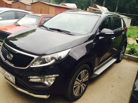 Kia Sportage 2014 - отзыв владельца