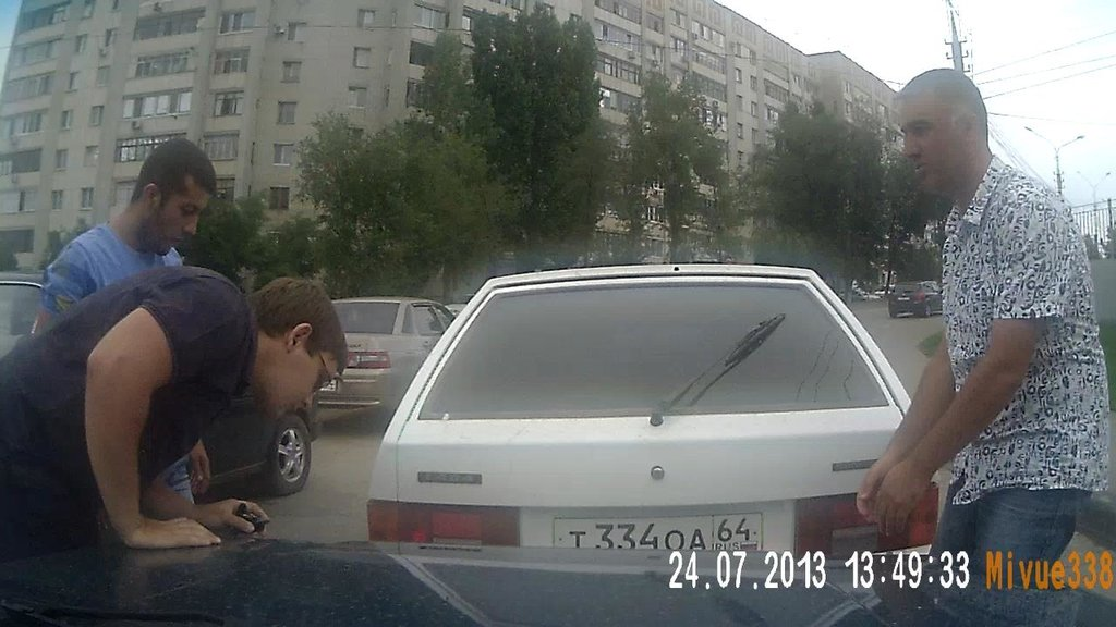 ДТП с лицами не славянской внешности