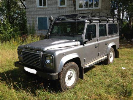 Land Rover Defender 2013 - отзыв владельца