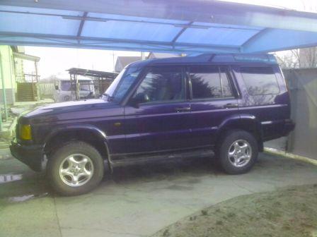 Land Rover Discovery 2001 - отзыв владельца