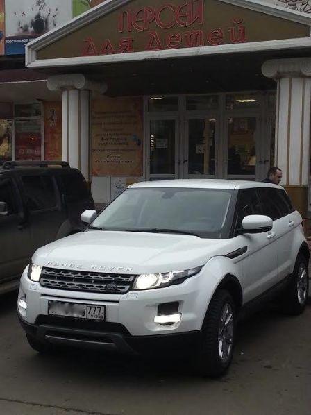 Land Rover Range Rover Evoque 2013 - отзыв владельца