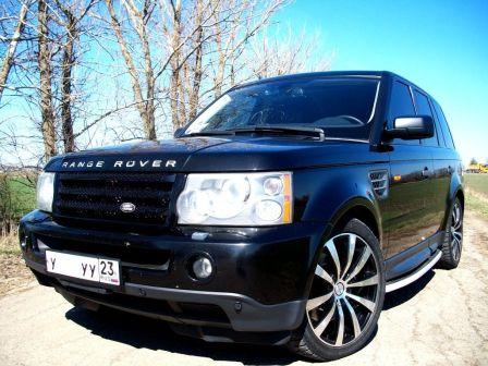 Land Rover Range Rover Sport 2005 - отзыв владельца