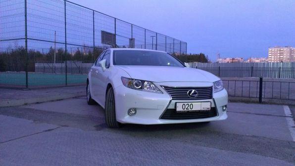 Lexus ES250 2013 - отзыв владельца