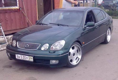 Lexus GS300 1998 - отзыв владельца