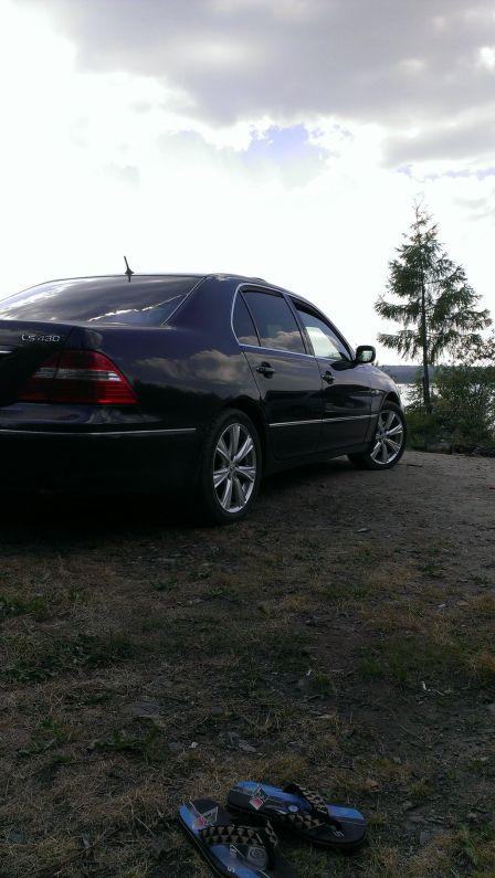 Lexus LS430 2005 - отзыв владельца