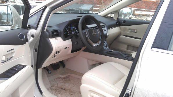 Lexus RX270 2013 - отзыв владельца