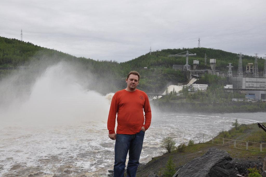 Каскад Вилюйских ГЭС, пос. Чернышевский.