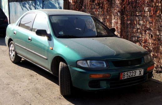 Mazda 323 1996 - отзыв владельца