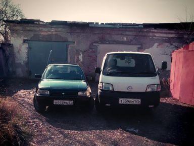 Mazda Bongo 1999 отзыв автора | Дата публикации 30.01.2015.