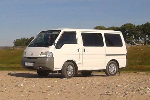 Mazda Bongo 2002 - отзыв владельца