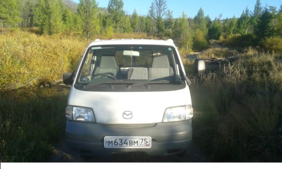 Mazda Bongo 2007 - отзыв владельца