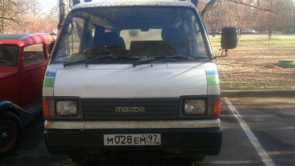 Mazda Bongo Brawny 1996 - отзыв владельца