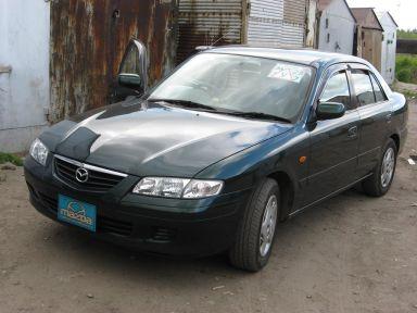 Mazda Capella 2001 отзыв автора | Дата публикации 14.01.2014.