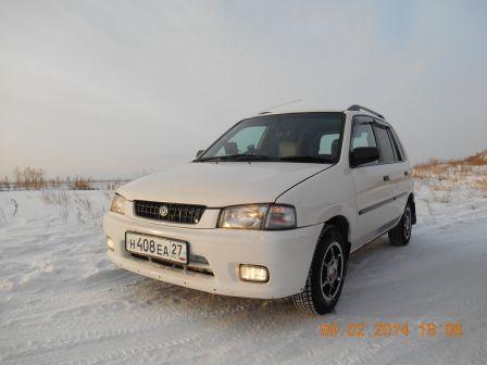 Mazda Demio 1996 - отзыв владельца