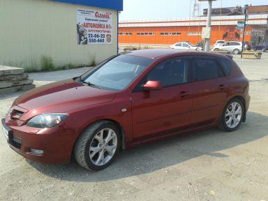 Mazda Mazda3 2008 отзыв автора | Дата публикации 17.10.2013.