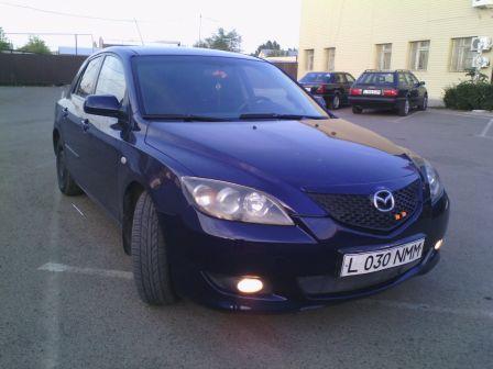 Mazda Mazda3 2005 - отзыв владельца