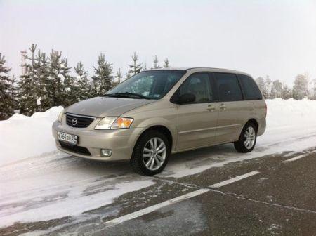 Mazda MPV 2001 - отзыв владельца